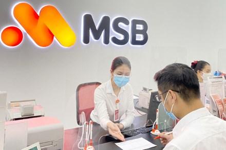MSB hoàn thành 95% kế hoạch lợi nhuận sau 6 tháng đầu năm