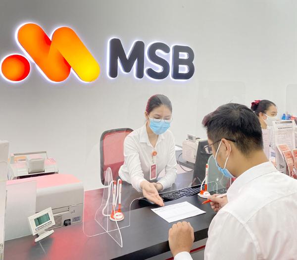 MSB hoàn thành 95% kế hoạch lợi nhuận sau 6 tháng đầu năm-2