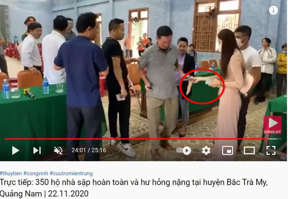 Livestream tố Thủy Tiên tay cầm tiền dư, giấy báo phát đủ, chi tiết mấu chốt xuất hiện ở 60 giây cuối-3