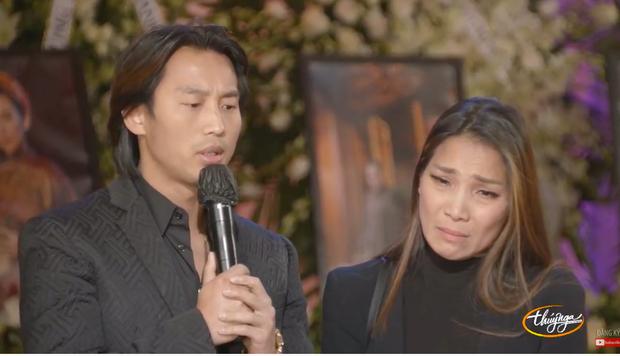 Tang lễ cố ca sĩ Phi Nhung ở Mỹ: Việt Hương khóc nức nở trong vòng tay Wendy Phạm, tiết lộ di nguyện cuối cùng của cố nghệ sĩ-29