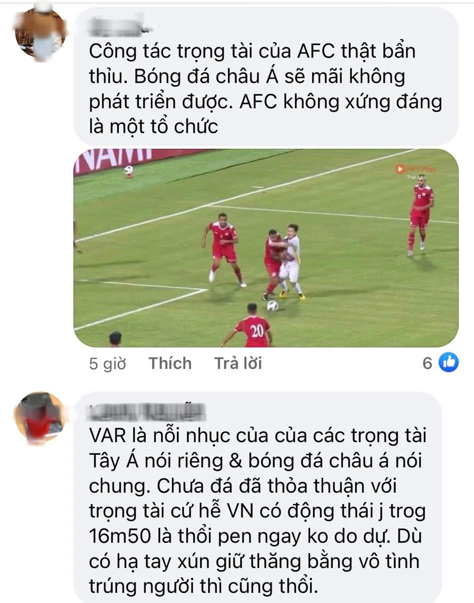 Fan Việt tấn công page của AFC, phẫn nộ vì AFC đăng bài động viên ĐT Việt Nam nhưng ở chế độ tuỳ chỉnh-1