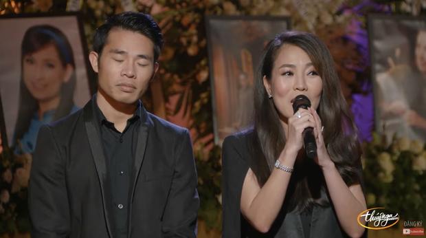 Tang lễ cố ca sĩ Phi Nhung ở Mỹ: Việt Hương khóc nức nở trong vòng tay Wendy Phạm, tiết lộ di nguyện cuối cùng của cố nghệ sĩ-14