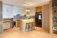 Dân mạng khen hết lời căn bếp có hệ thống tủ 'giấu sạch' đồ đạc: Gọn gàng, thoáng mát và lúc nào cũng sạch đẹp như mới
