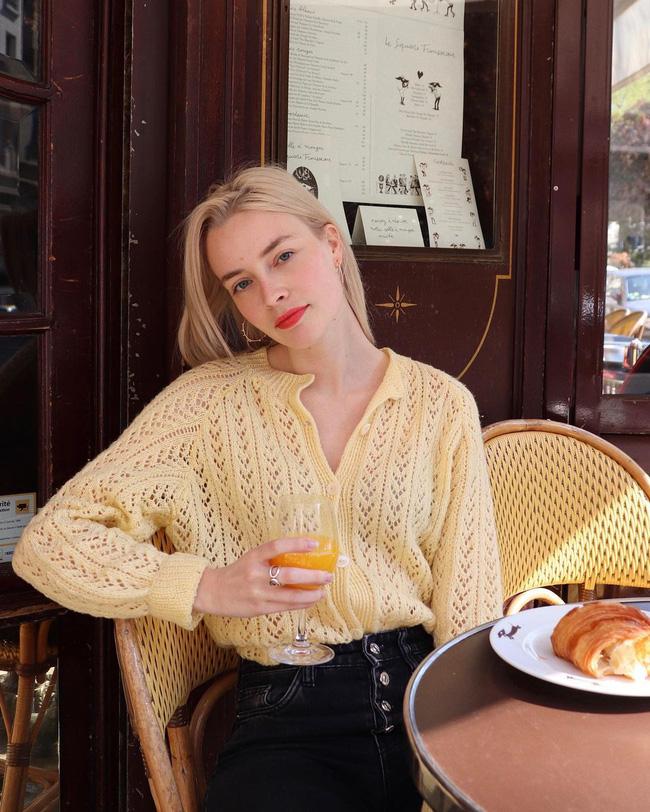 Trời se lạnh, học 12 cách diện áo cardigan sang chảnh của gái Pháp là chuẩn không cần chỉnh-8
