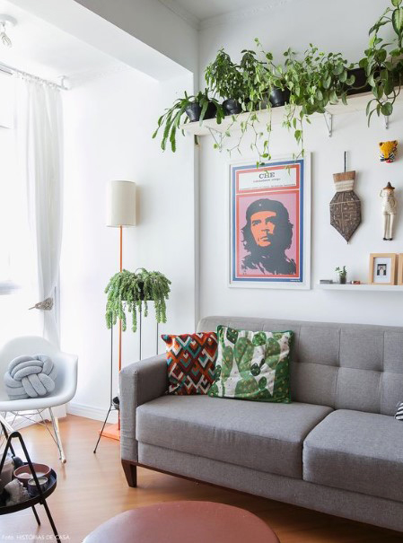 15 ý tưởng trồng cây trong nhà theo phong cách hiện đại, những người yêu cây nhất định đừng bỏ qua-18