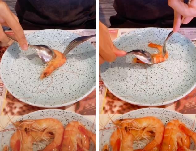 Cách bóc vỏ tôm chín không bị nóng và dây bẩn, còn được khen là khéo léo, duyên dáng khi đi ăn cỗ-3