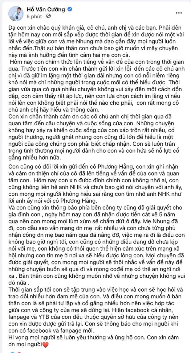 Khi các ca sĩ rời công ty quản lý của ba mẹ nuôi: Phương Mỹ Chi êm đẹp với Quang Lê, 2 người con nuôi của cố NS Phi Nhung đối lập hoàn toàn-22