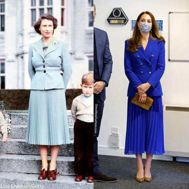 Nhìn những lần Công nương Kate diện đồ hao hao Nữ hoàng Anh, dân tình khen cô đã rất ra dáng Hoàng hậu tương lai-2