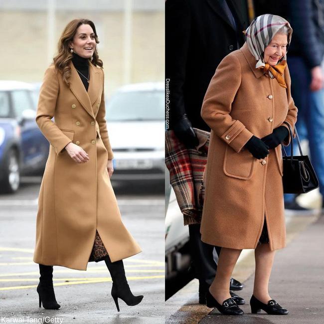 Nhìn những lần Công nương Kate diện đồ hao hao Nữ hoàng Anh, dân tình khen cô đã rất ra dáng Hoàng hậu tương lai-3