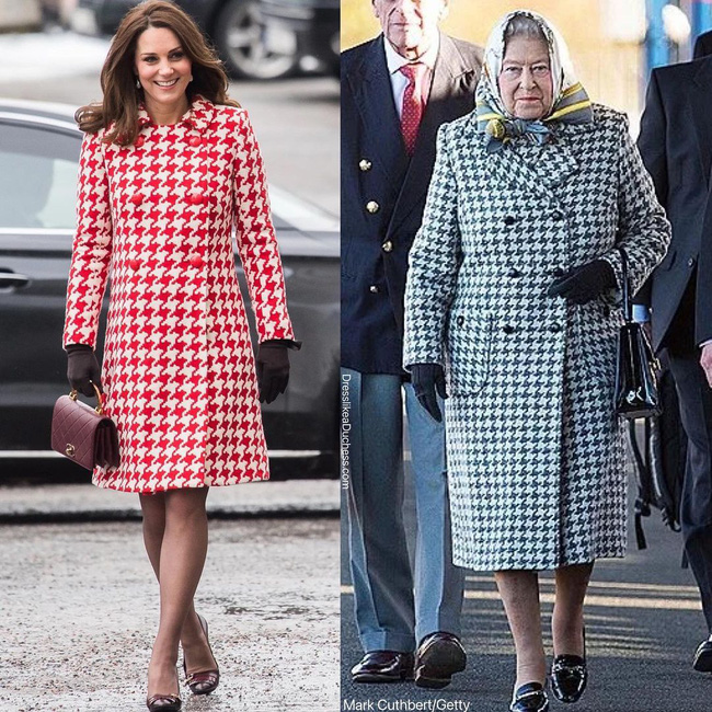 Nhìn những lần Công nương Kate diện đồ hao hao Nữ hoàng Anh, dân tình khen cô đã rất ra dáng Hoàng hậu tương lai-4