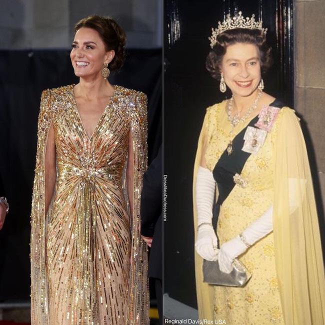 Nhìn những lần Công nương Kate diện đồ hao hao Nữ hoàng Anh, dân tình khen cô đã rất ra dáng Hoàng hậu tương lai-7