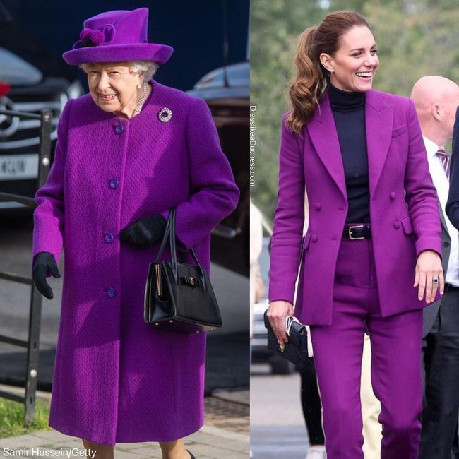 Nhìn những lần Công nương Kate diện đồ hao hao Nữ hoàng Anh, dân tình khen cô đã rất ra dáng Hoàng hậu tương lai-9