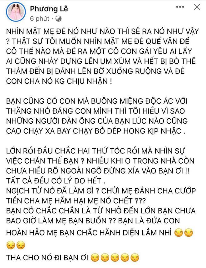 Trên trang cá nhân, Hoa hậu này ngỏ ý cho gia đình Hồ Văn Cường mượn nhà để ở nếu nam ca sĩ muốn.-6