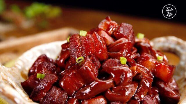 Thịt ba chỉ om với nguyên liệu dễ kiếm này cực tốn cơm, ăn hoài không biết chán-7