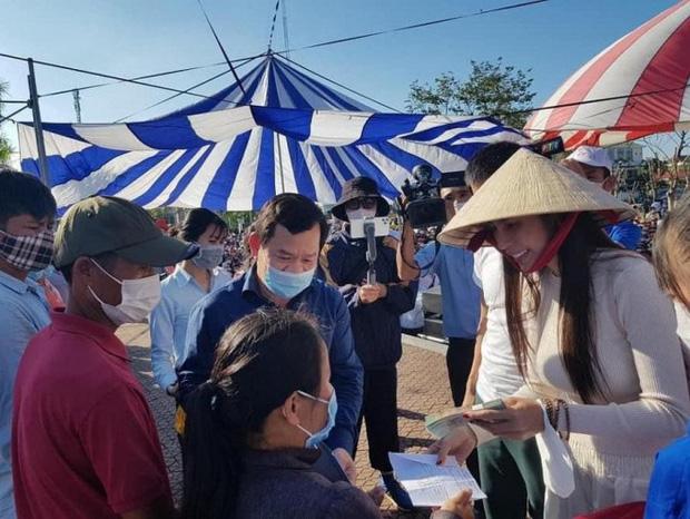 7 tỉnh miền Trung được Bộ Công an yêu cầu rà soát về hoạt động từ thiện của ca sĩ Thủy Tiên nói gì?-2