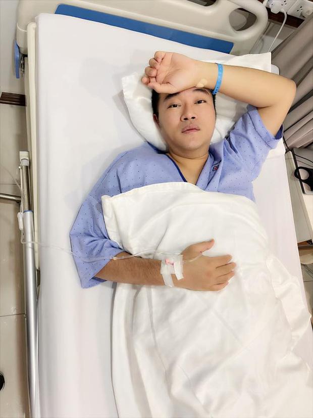 Một nam ca sĩ phải nhập viện phẫu thuật, Quang Hà, Phương Oanh và dàn sao vô cùng lo lắng-1
