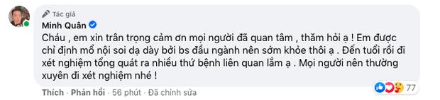 Một nam ca sĩ phải nhập viện phẫu thuật, Quang Hà, Phương Oanh và dàn sao vô cùng lo lắng-4