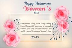 Những lời chúc ngày 20 tháng 10 bằng tiếng Anh ngọt ngào và ý nghĩa nhất dành tặng người phụ nữ bạn yêu thương