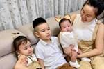 """Tròn 3 tháng sau sinh, mẹ 3 con Vy Oanh lần đầu khoe dáng nuột đến thế, bonus thêm bí quyết giảm cân siêu """"đỉnh"""" mà sữa vẫn dồi dào"""