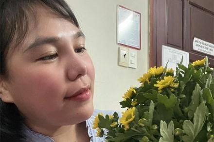 Giang Kim Cúc hé lộ tình trạng sức khỏe sau 3 ngày mắc COVID-19, vẫn làm một việc 24/24