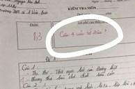 Học sinh làm bài thiếu mất 1 câu, cô giáo nhận xét 5 từ khiến dân tình 'sốt xình xịch': Cô đáng yêu quá vậy trời