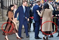 Người ta chê Meghan Markle kém duyên khi mặc váy, dáng đứng của cô phản hồi: 'Đúng rồi!'