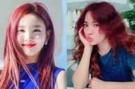 Sao Hàn nhuộm tóc đỏ: Nayeon (TWICE) đẹp xuất sắc, Song Hye Kyo nhìn không hợp lắm