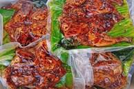 Đặc sản Tây Bắc, lò than rực lửa, nướng 4.000 con chuyển về Hà Nội