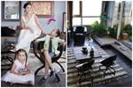 Thăm cơ ngơi mới của diva Hồng Nhung và hai con sinh đôi: Không gian và nội thất bên trong thế nào?