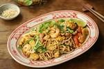Mì tàu hũ xào tôm kiểu Thái:Món ngon thanh đạm, ăn nhiều cũng chẳng lo bịtăng cân, chị em ăn kiêng thì quá hợp lý