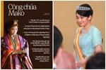 Chân dung nàng công chúa Nhật Bản chống lại thế giới để ở bên người mình yêu, sắp sửa lên xe hoa với phò mã có '1-0-2'
