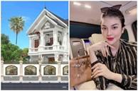 Mỹ nhân từng vướng nghi vấn chung bồ tỷ phú với Ngọc Trinh - Lily Chen khoe biệt thự hơn 2000 m2 ở quê