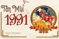 Đôi dòng cho Tân Mùi 1991: Thời thế xoay chuyển từ tháng 10 âm lịch, may mắn cận kề, năm 2022 hô mưa gọi gió