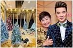 Giữa tin đồn ly hôn với nữ bầu show, Đàm Vĩnh Hưng trang trí Noel hoành tráng trong biệt thự 90 tỷ