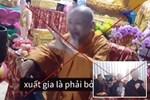 Dân mạng truyền nhau đoạn clip cảnh 'Quy y' tại Tịnh thất Bồng Lai với nhiều điều được cho là khác xa định nghĩa Phật Giáo