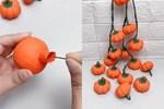 """Hướng dẫn mẹ và bé cách làm trái bí ngô """"siêu cute"""", nguyên liệu dễ tìm cho ngày Halloween của con thêm vui"""