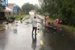 Quảng Nam: 3 xe máy tông nhau, 3 người tử vong